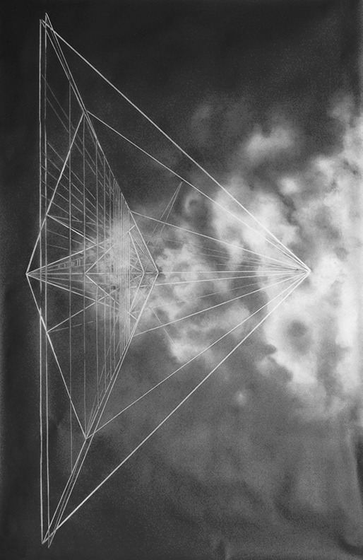 "Jonah Groeneboer-untitled xii, 42"" x 29"" Graphite on Vellum 2011"