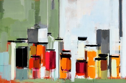 Perri Schwartz Bottles and Jars XIII 2011