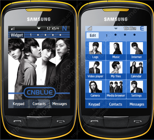 CN Blue Theme request.[P.S for the battery 0%-C20%-N40%-B60%-L80%-U100%-E]link: http://po.st/z13P7V**password: ninjaabi