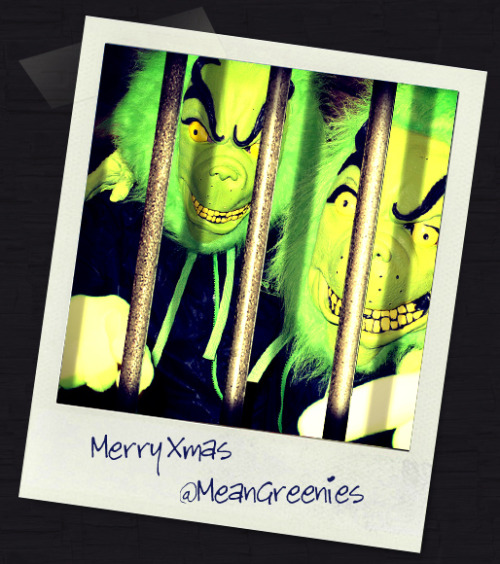 The MeanGreenies are now behind bars. Happy Christmas.