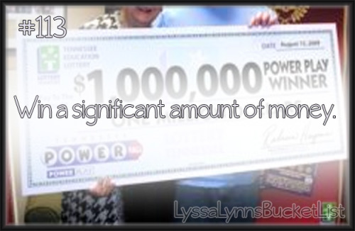 Bucket List #113: Win a significant amount of money.