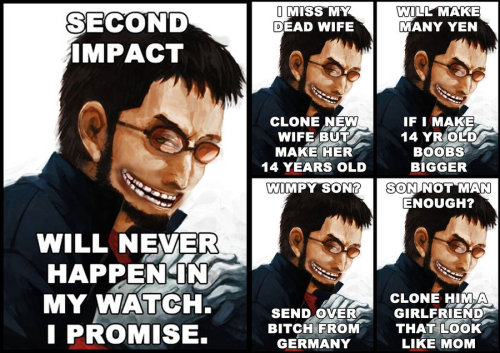 Gendo Troll by ~eva-guy01