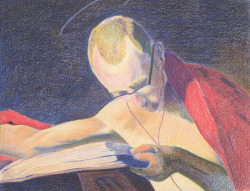 Self Portrait/Master's Study