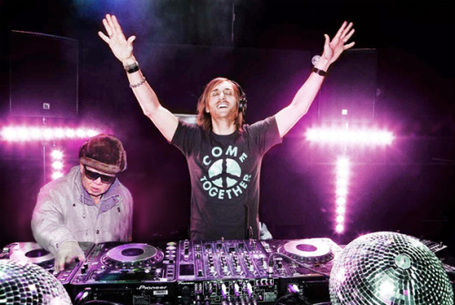 kimjongildroppingthebass:  kim droppin' with david guetta