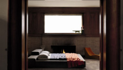 theblackworkshop:  Extra Wall Bed By Living Divani