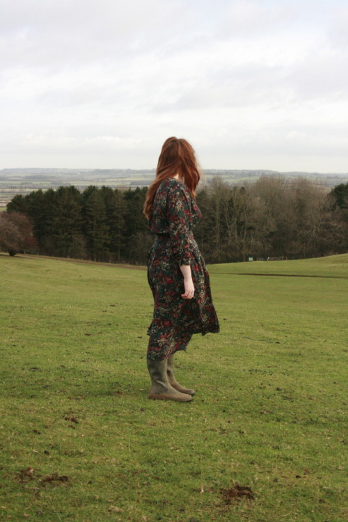 Model: Sophie Mae Whittle. On location at Burton Dassett. Dress courtesy of dream&awake. http://www.dreamandawake.com/