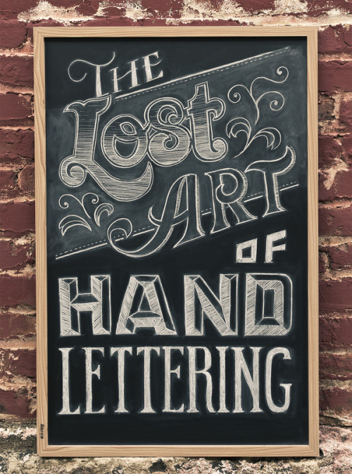 Typeverything.com The Lost Art.