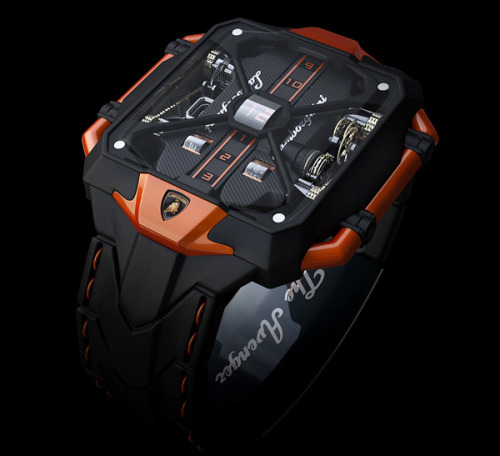 Lamborghini Avenger Watch by Marko Petrovic $(if you have to ask you probably can't afford it)