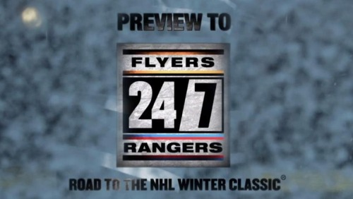 Road to the NHL Winter Classic is ON! ;DD
