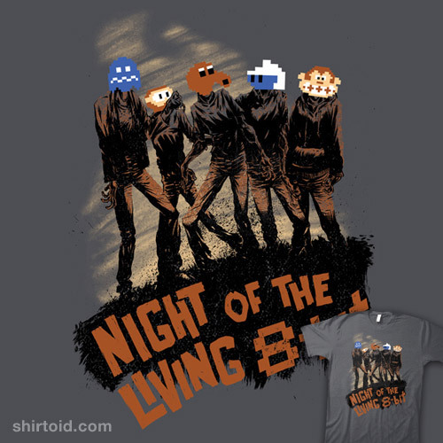 Night of the Living 8-Bit by Raz is available for $10 today only (12/20) at TeeFury