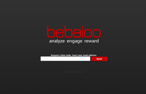 Bebaloo simplifies your Facebook fan analysis — engage and reward your fans. With Babaloo you can strengthen your relationship with your fans and you can analyze the topics most discussed, the top links and all users who have more influence on your page. Sign up here
