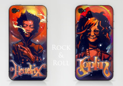 Rock & Roll Available in miniprints & all generation iphone caseshttp://society6.com/TimShumate/Janis-Kak_Printhttp://society6.com/TimShumate/Jimmy-blj_Print
