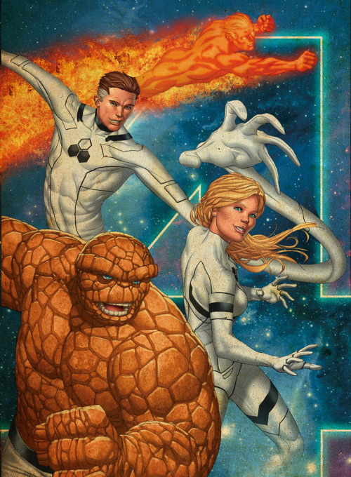 The Fantastic Four By Mike Choi