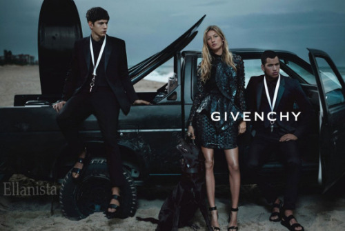 Fashion Ads  A sneak peek at Gisele Bündchen's ad for Givenchy Spring 2012 campaign Gisele was photographed by Mert Alas and Marcus Piggot.