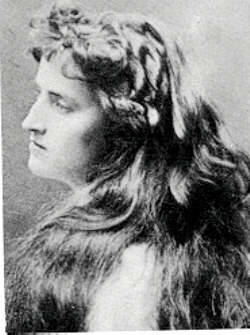 Winnaretta Singer, Princesse Edmond de Polignac(8 January 1865 – 26 November 1943) Known to her family as 'Tante Winni', heiress to the SInger sewing machine fortune. Known to private circles as a lesbian (on her first wedding night, she climbed on top of the armoire and threatened to kill her new husband if he came near her), then got 'lavender' married to another lover of music, the equally rockin' french prince.Had a relationship with the wonderful painter Romaine Brooks (check her out!) and did loads of public work - established a haven for avant-garde music in her own mansion, helping build housing for the working poor, commissioned public shelter's for Paris' Salvation Army and even helped Marie Curie convert private limousines into mobile radiology units to help wounded soldiers at the front in the war. Plus, she was a stunner when she was younger.