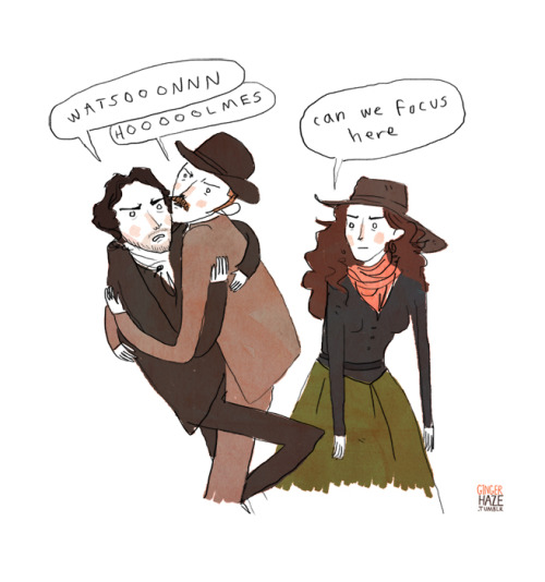 gingerhaze:  Sherlock Holmes: Game of Shadows Summary. She's secretly into it.