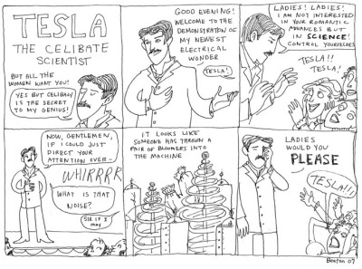 Tesla: The Celibate Scientist