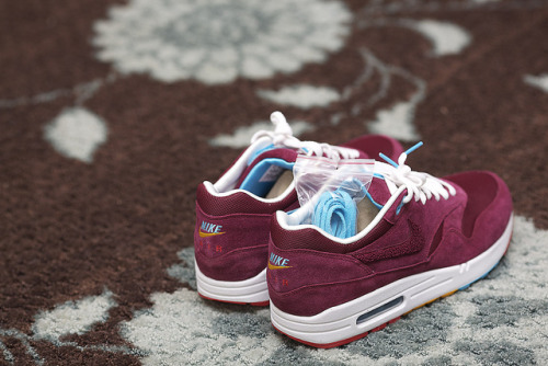sweetsoles:  Nike Air Max 1 'Parra x Patta' (by