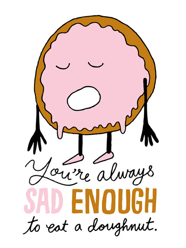Sad Doughnut by Chris Piascik