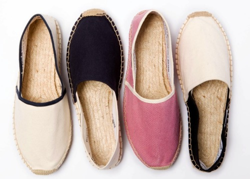 Going on vacay this winter? Take these with you. Soludos x Bassike espadrilles, $49.95, bassike.com