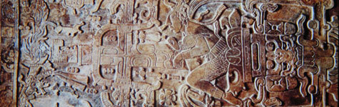 Pacal the Great ruled over the Mayan city of Palenque, in what is now southern Mexico, during the seventh century. Upon his death, he was buried inside a pyramid called the Temple of Inscriptions. The intricately carved lid of his sarcophagus has become a classic work of Mayan art—and an oft-cited piece of evidence for ancient alien theorists. In their view, Pacal is pictured in a spaceship during takeoff, with his hand on a control panel, his foot on a pedal and an oxygen tube in his mouth.