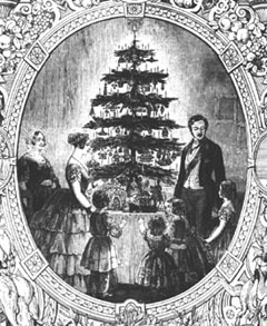 hdi-ihd:  The history of the Christmas tree - three bet you didn't know that facts! 1. First appearing in  England 1840, the tree was introducted by Prince Albert, Queen Victoria German husband, who's family had one growing up.  2. The first ever Christmas tree in  North America appeared the winter of 1781 in Sorel, Quebec. 3. Perhaps the first electronically lit Christmas tree in Canada was erected in Westmount, Quebec, in 1896.  To learn more about the history of Christmas trees of Holiday traditions in Canada, visit The Canadian Encyclopedia.