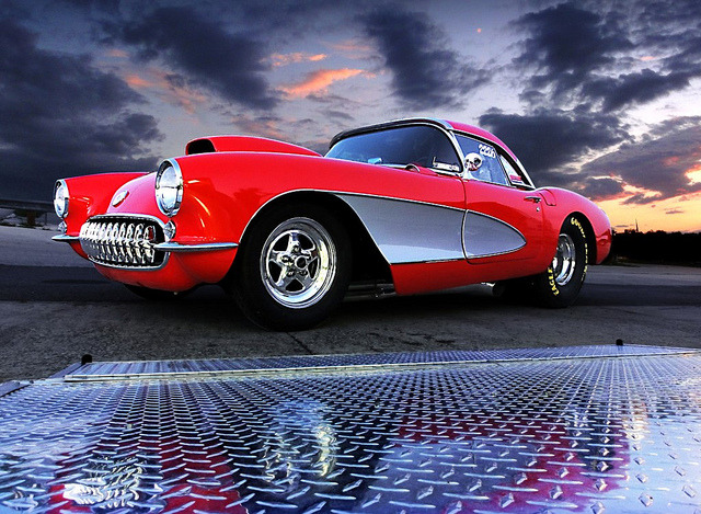 wellisnthatnice:  57 Corvette by Elliot Deluxe on Flickr.