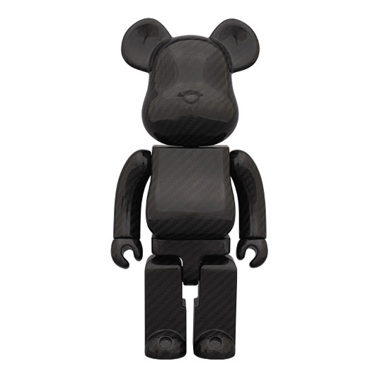 LIKE - Medicom Bearbrick 400% Dry Carbon