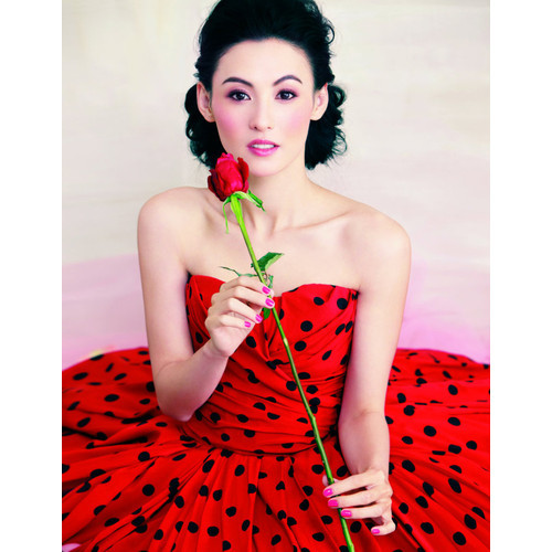 Cecilia Cheung for Harper's Bazaar China February 2011 by Feng Hai   (clipped to polyvore.com)