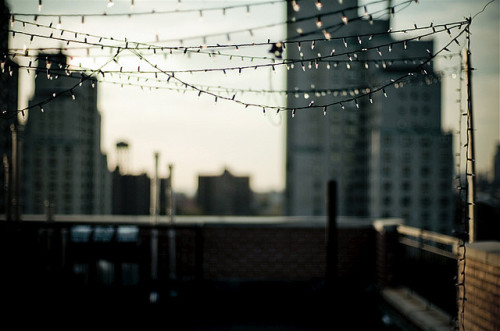 Rooftop Party, Brooklyn by Superbaka on Flickr.