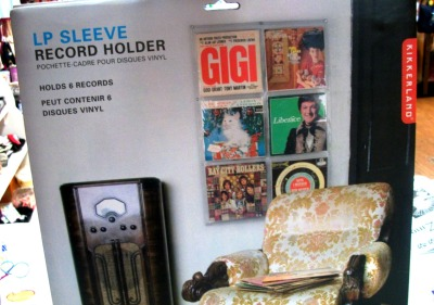 Great gift idea! Displays 6 LP covers on your wall!