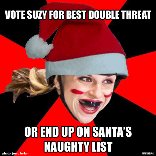 Vote for Suzy! Make sure to login: http://www.derbynewsnetwork.com/2011/12/dnn_best_2011_reader_poll