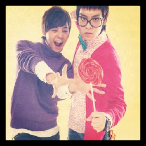 I like this one best~ #TOP and #GD #bigbang  (Taken with instagram)