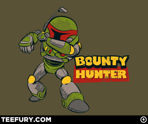 teevil:  Bounty Hunter by NikHolmes on sale Thu 12/29/11 at teefury.com  USD$10 for 24 hours only