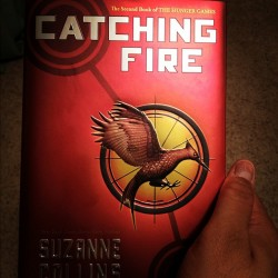 Excited to read the second book #cathingfire (Taken with instagram)
