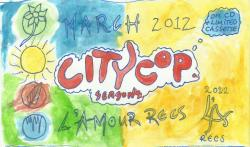 beach-partyvietnam:  CITYCOP - SEASONS - MARCH 2012. Spread it, this EP rules, so proud to be a part of it. It'll be LR005 (?) but they were the second band we started working with. We love them like Children.