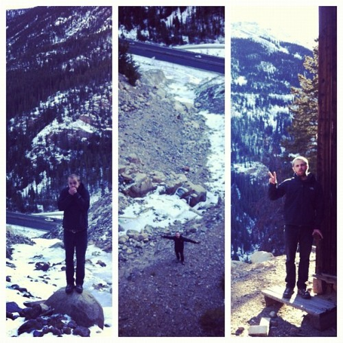 Detour hike up to an abandon gold mine. #winterroadtrip  (Taken with Instagram at Silver Plume, CO)