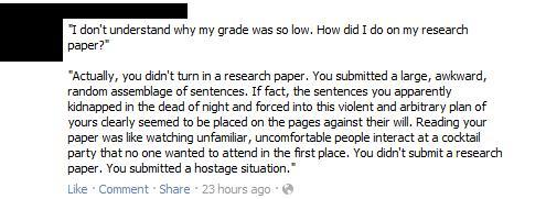 You didn't submit a research paper. You submitted a hostage situation.