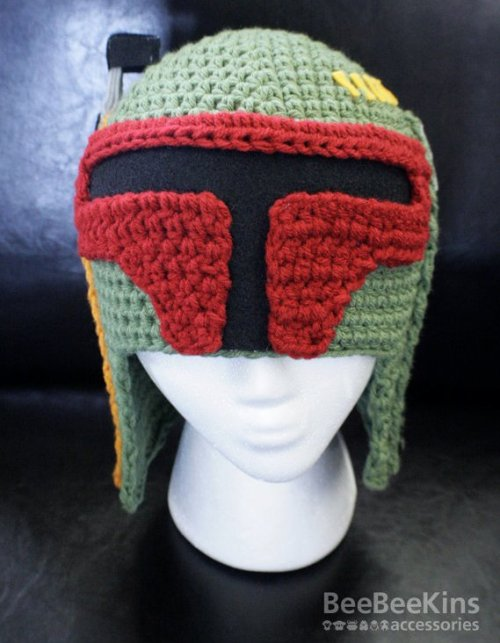 (via Boba Fett Star Wars Crochet Hat) WANT.
