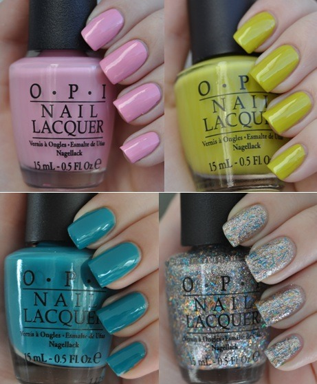 nicoleashleyanne:  Swatches from the new Nicki Minaj for OPI collection are now up on my blog!  http://cutie-cles.blogspot.com/