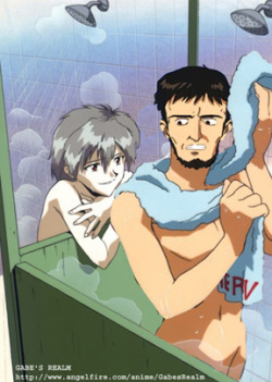 gendoikariadvicedad:  The day Kaworu hit on the wrong Ikari