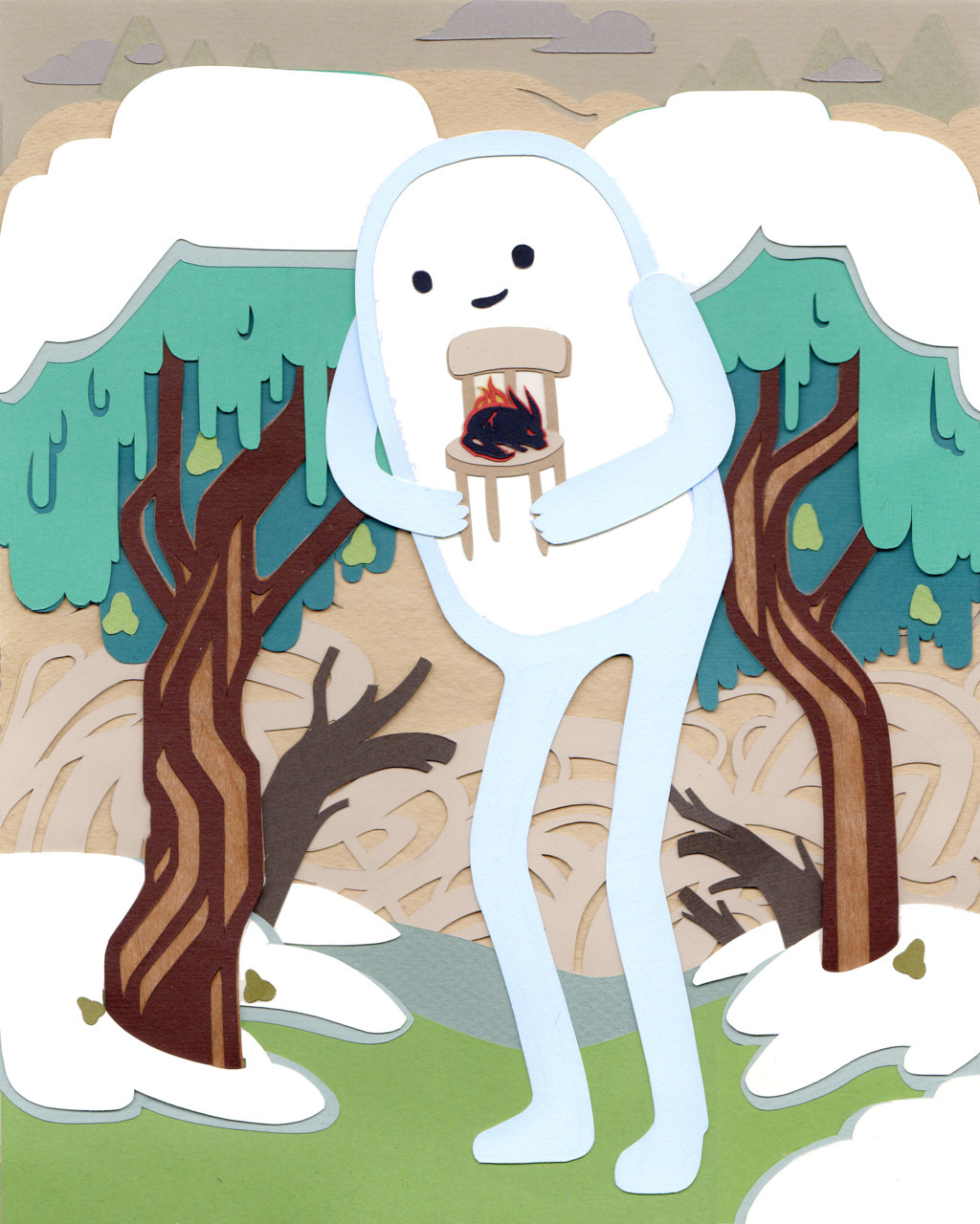kevinjaystanton:  Adventure Time - Thank You. Made this for my little brother! I absolutely love this episode!