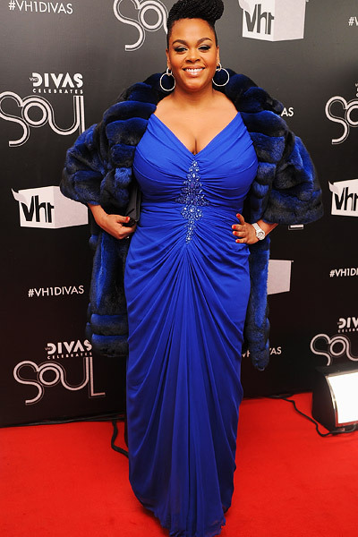 Miss Jill Scott at the VH1 Divas Celebrates Soul show in New York City.