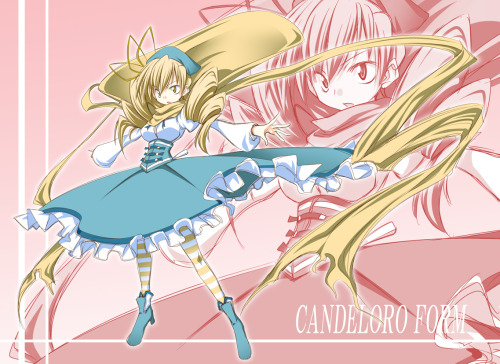 hopuras:  It was only a matter of time… Mami's witch gijinka, Candeloro  god dammit