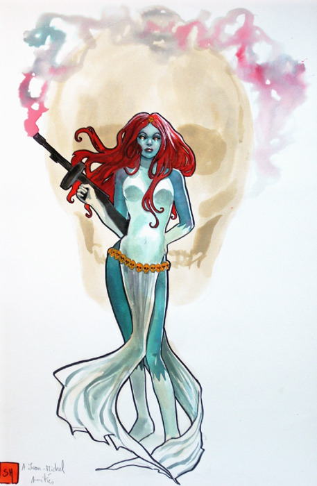 jesic:  Mystique, by Stephanie Hans
