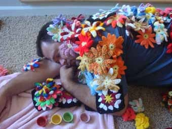 Fall asleep at a tea party, you might get decorated!