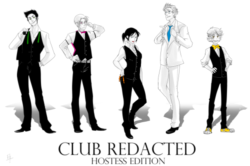 Club Redacted : Hostess Edition