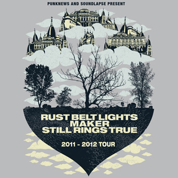 Download a sampler from Rust Belt Lights, Maker and Still Rings True here. The sampler was created to help support the 3 bands' upcoming tour. Find the dates for that here.
