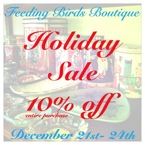 feedingbirdsboutique:  *On Christmas Eve enjoy complimentary hot coco & treats while you shop for last minute gifts 10am-4pm!