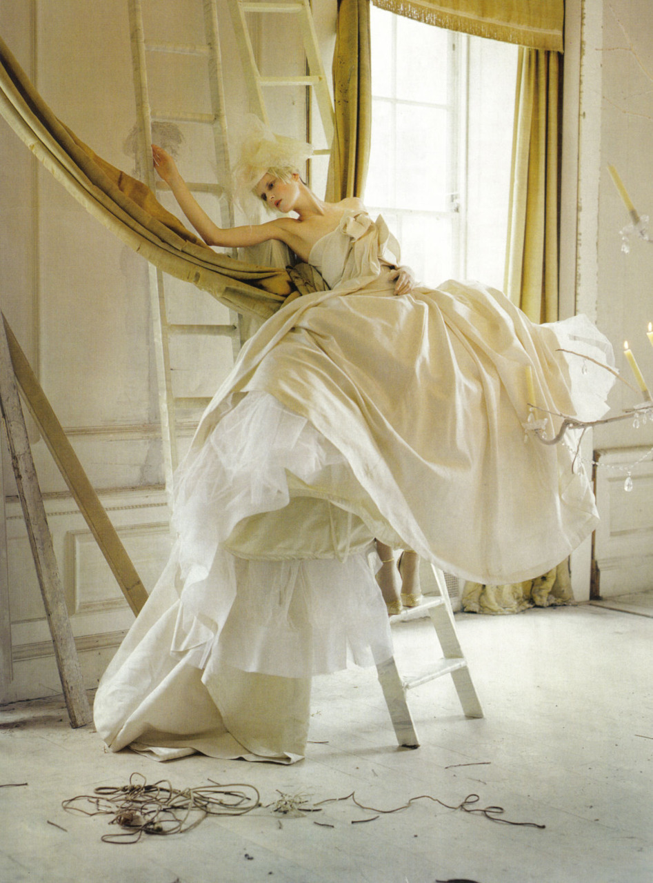 Lady Grey - Vogue Italia by Tim Walker, March 2010